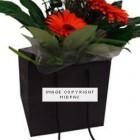 250mm Black Florist Paper Carrier Bags