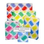 7x9in Diamond Design Paper Bags