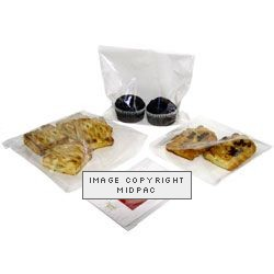 7x7in Film Front Paper Bags