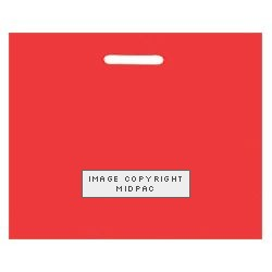22x18in Red Polythene Carrier Bags