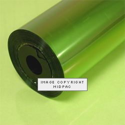 Lime Green Tinted Film