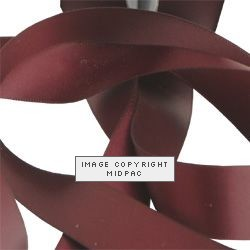 15mm Burgundy Double Faced Satin Ribbon