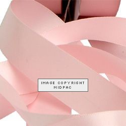 23mm Baby Pink Double Faced Satin Ribbon