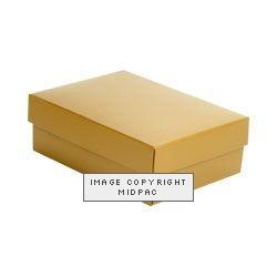 Medium Gold Gift Boxes