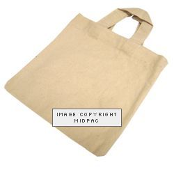 Canvas Bags 250mm Natural