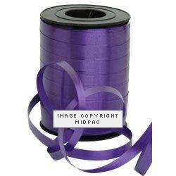 10mm Violet Curling Ribbon