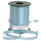 5mm Light Blue Curling Ribbon