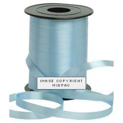10mm Light Blue Curling Ribbon
