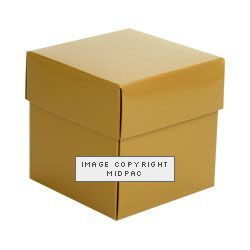 Gold Cube Boxes