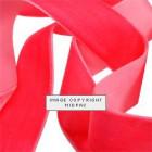 25mm Shocking Pink Velvet Ribbon