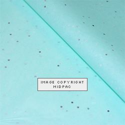 Aquamarine Gemstone Tissue Paper