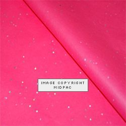 Hot Pink Gemstone Tissue Paper