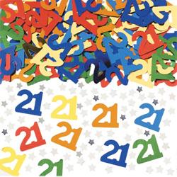 21st Table Confetti