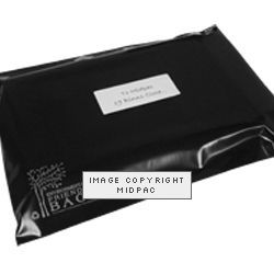 430mm Black Eco Polythene Mailers