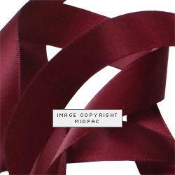 15mm Wine Satin Ribbon