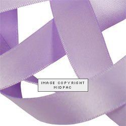 15mm Lavender Satin Ribbon