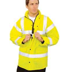 High Viz Traffic Jacket