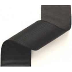23mm Grosgrain Ribbon Black