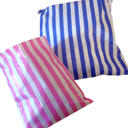 5x7in Candy Striped Paper Bags