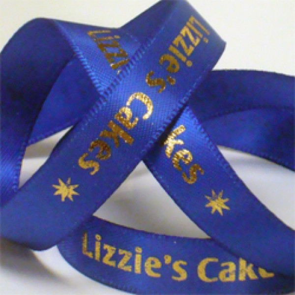 printed ribbon 9mm wide in over 50 ribbon colours printed