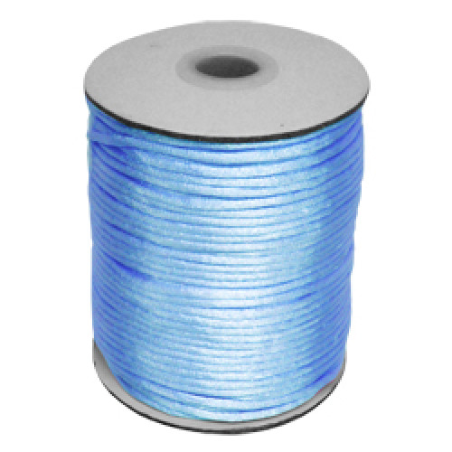Satin Cord Light Blue