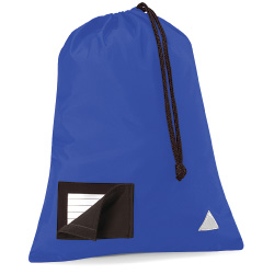 School Pump Bags Royal