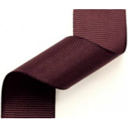23mm Grosgrain Ribbon Burgundy