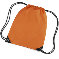 Orange Premier Nylon Backpacks