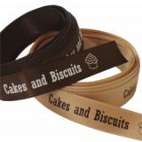 Cake Biscuits Printed Ribbon