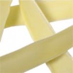 Cream Velvet Ribbon