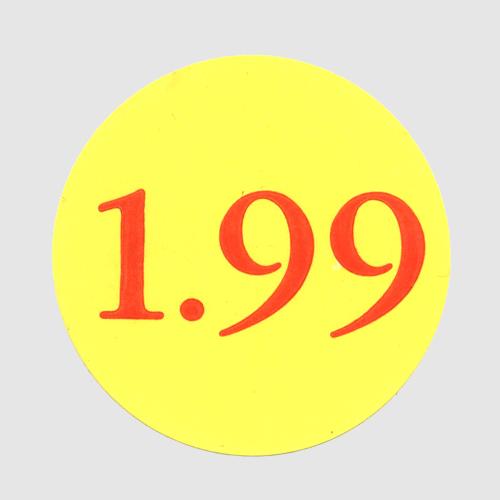1.99 Label