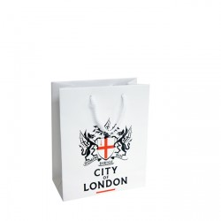 200mm Laminated Printed Paper Carrier Bags