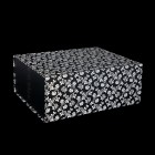 220mm Black Patterned Gift Boxes