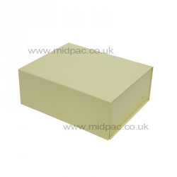220mm Cream Magnetic Rigid Gift Boxes