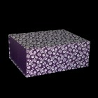 220mm Damson Patterned Gift Boxes
