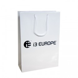 250mm Laminated Printed Paper Carrier Bags