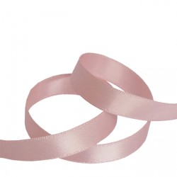 9mm Baby Pink Double Faced Satin Ribbon