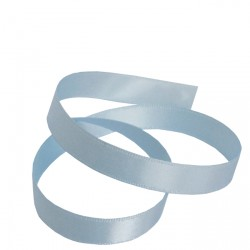 9mm Baby Blue Double Faced Satin Ribbon