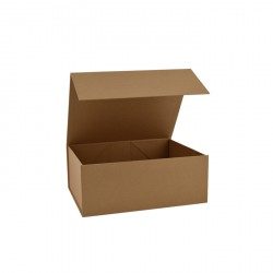 120mm Natural Kraft Magnetic Boxes