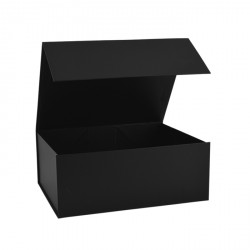 160mm Black Magnetic Gift Boxes