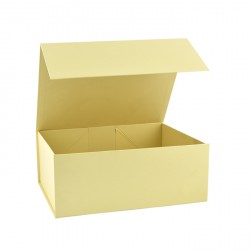 160mm Cream Magnetic Rigid Gift Boxes
