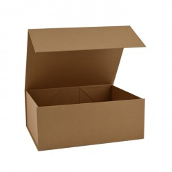 160mm Natural Kraft Magnetic Boxes