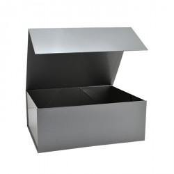 160mm Silver Magnetic Gift Boxes