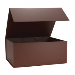 220x280x110mm Chocolate Magnetic Rigid Gift Boxes