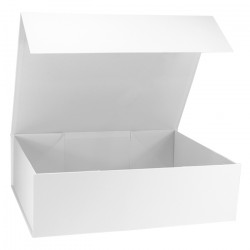 340x440x120mm White Magnetic Gift Boxes