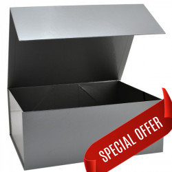 300x400x150mm Silver Magnetic Gift Boxes