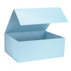 220mm Baby Blue Magnetic Rigid Gift Boxes