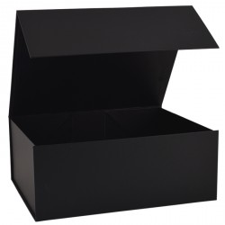 300mm Deep Black Magnetic Gift Boxes