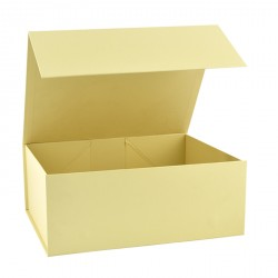 220mm Cream Magnetic Rigid Gift Boxes