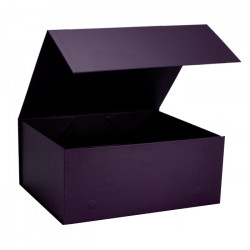 220mm Damson Magnetic Rigid Gift Boxes
